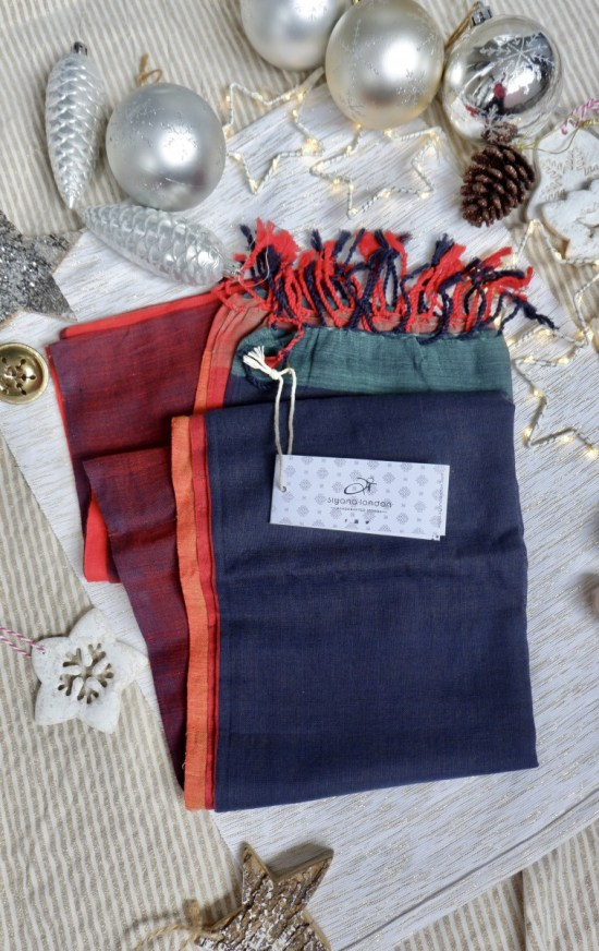 organic cotton scarf: Ethical Christmas Gifts