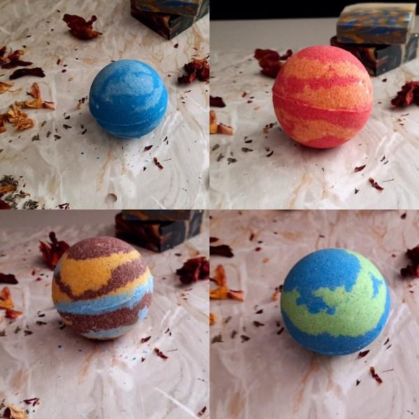 Solar System Bath Bombs