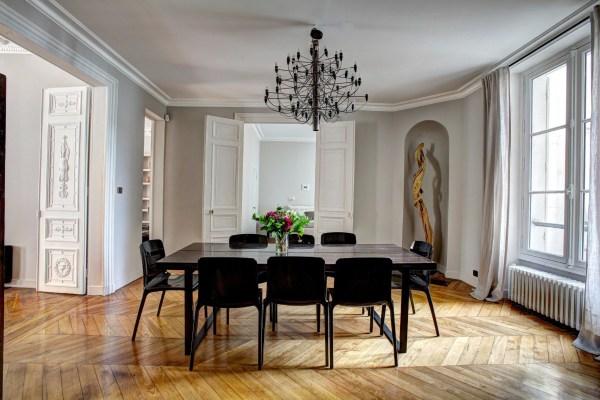 elegant dining room home interior
