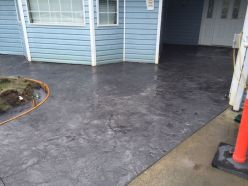 Stamped concrete entry Abbotsford BC