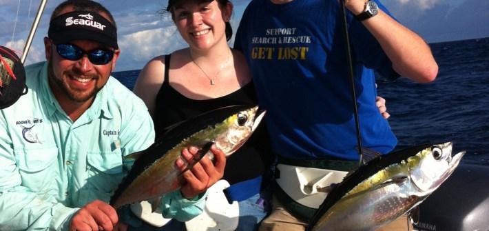blackfin tuna fishing marathon hump