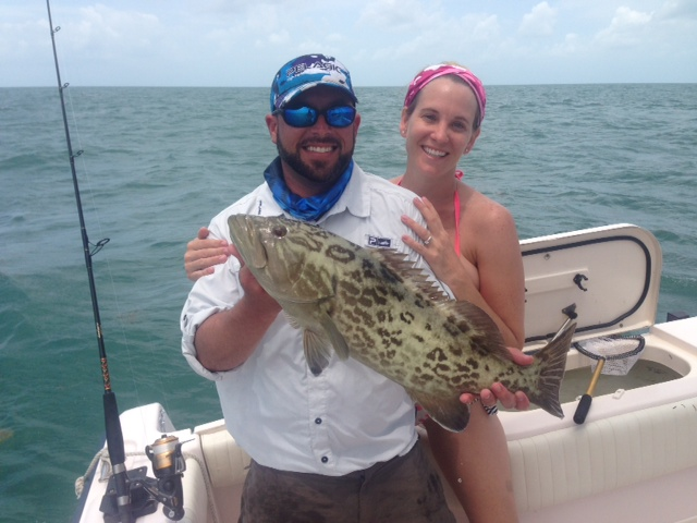 Grouper season is finally open. Marathon offers some fantastic grouper fishing.