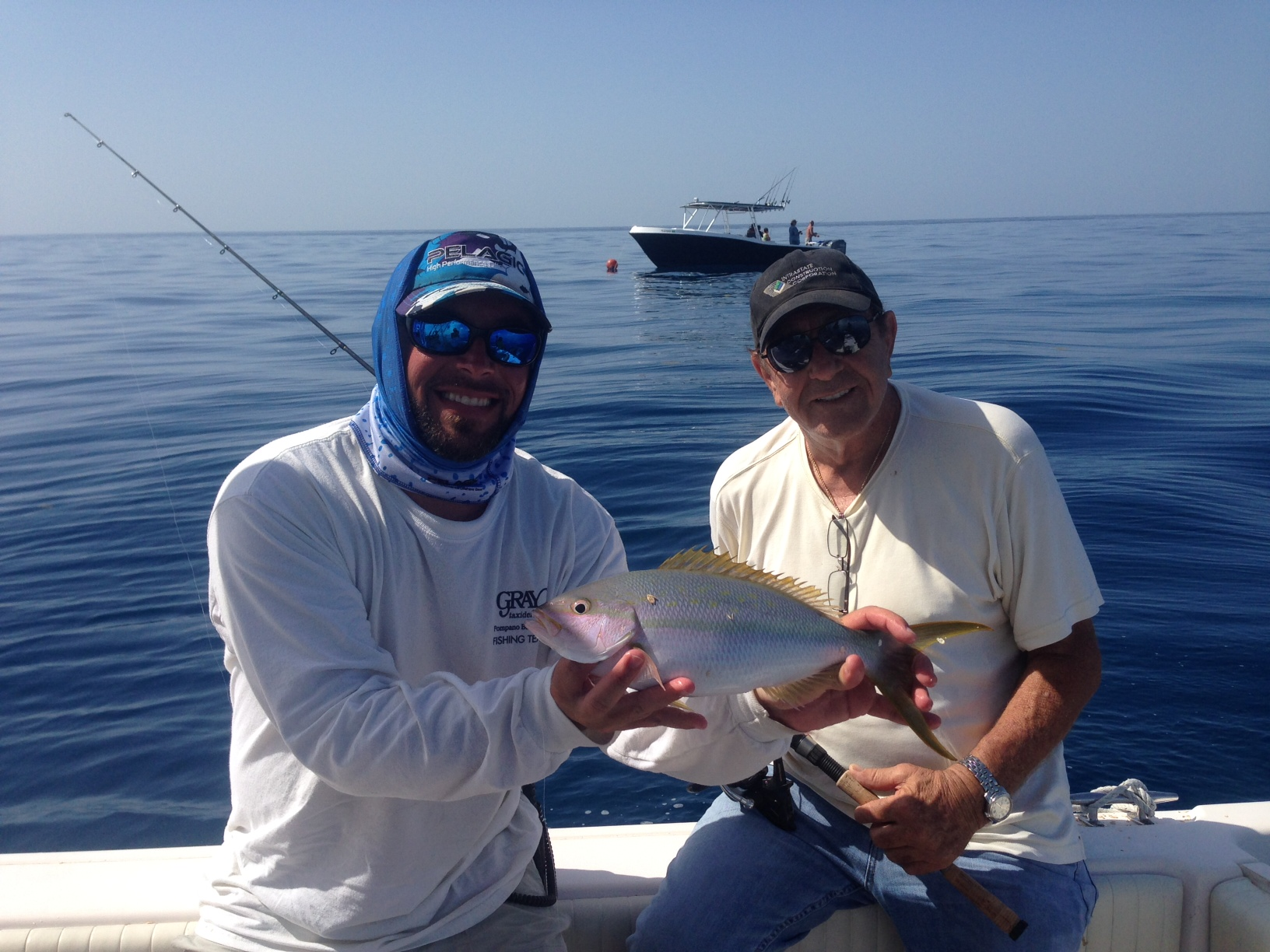 Yellowtail snapper fishing off Marathon. Our reef charters have been hot lately with plenty of fish making there way to the filet table.