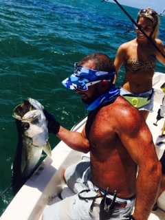 Tarpon charter fishing off Marathon pays off!