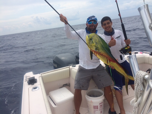 John caught this bull dolphin on a offshore charter off Marathon.