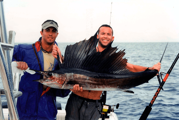 Sailfish have been biting offshore this time of year. Come book your next Fl Keys fishing charter with Capt. Doug