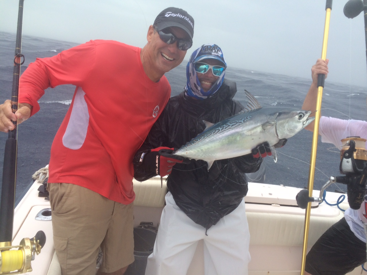This member of the tuna family showed up on our charter last week off Marathon in the Fl Keys.