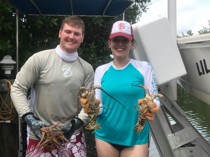 Today's lobster trip was a success. Lots of shorts but we managed to get enough …