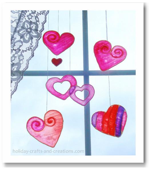Valentines Day Crafts For Kids Via Pinterest