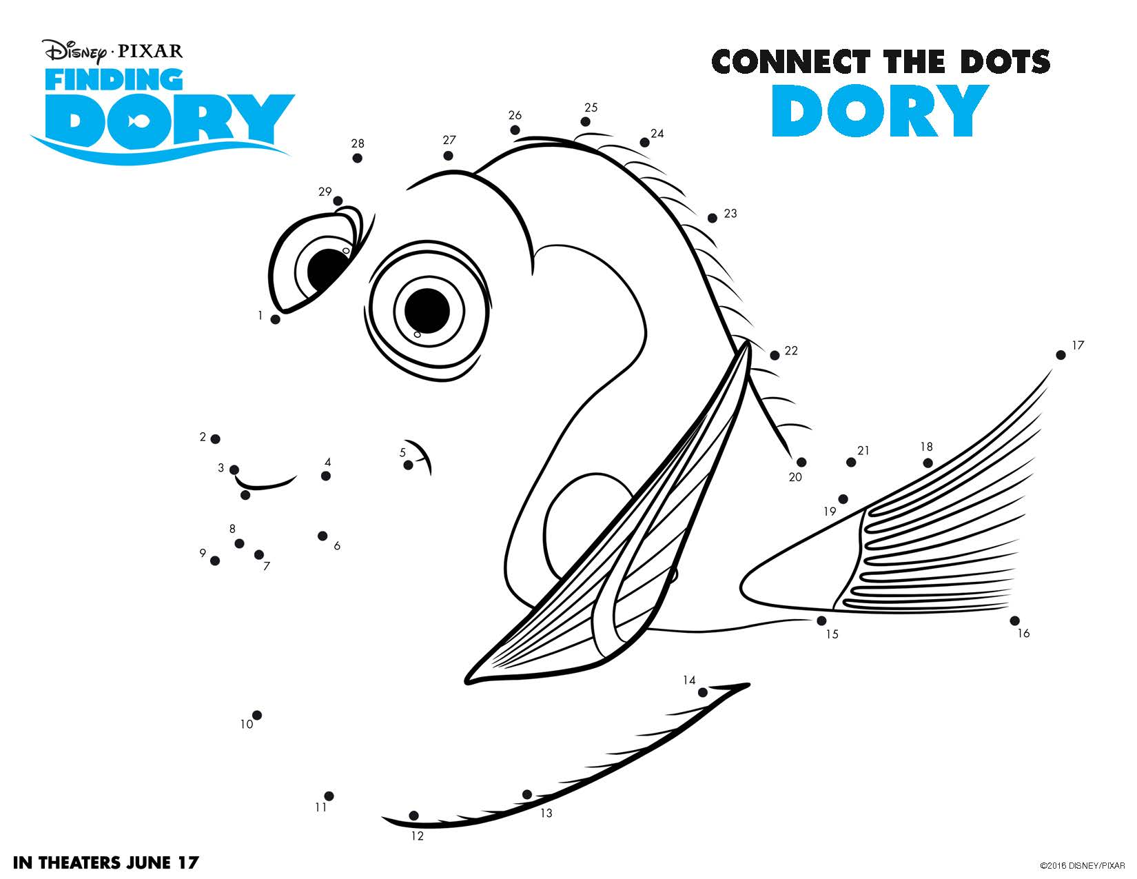 Print These Free Finding Dory Printables For Summer Fun!
