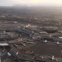 Fly over shot of San Francisco Airport!