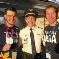 Olympians Jake Kaminski and Steve Garbett – Go athletes!