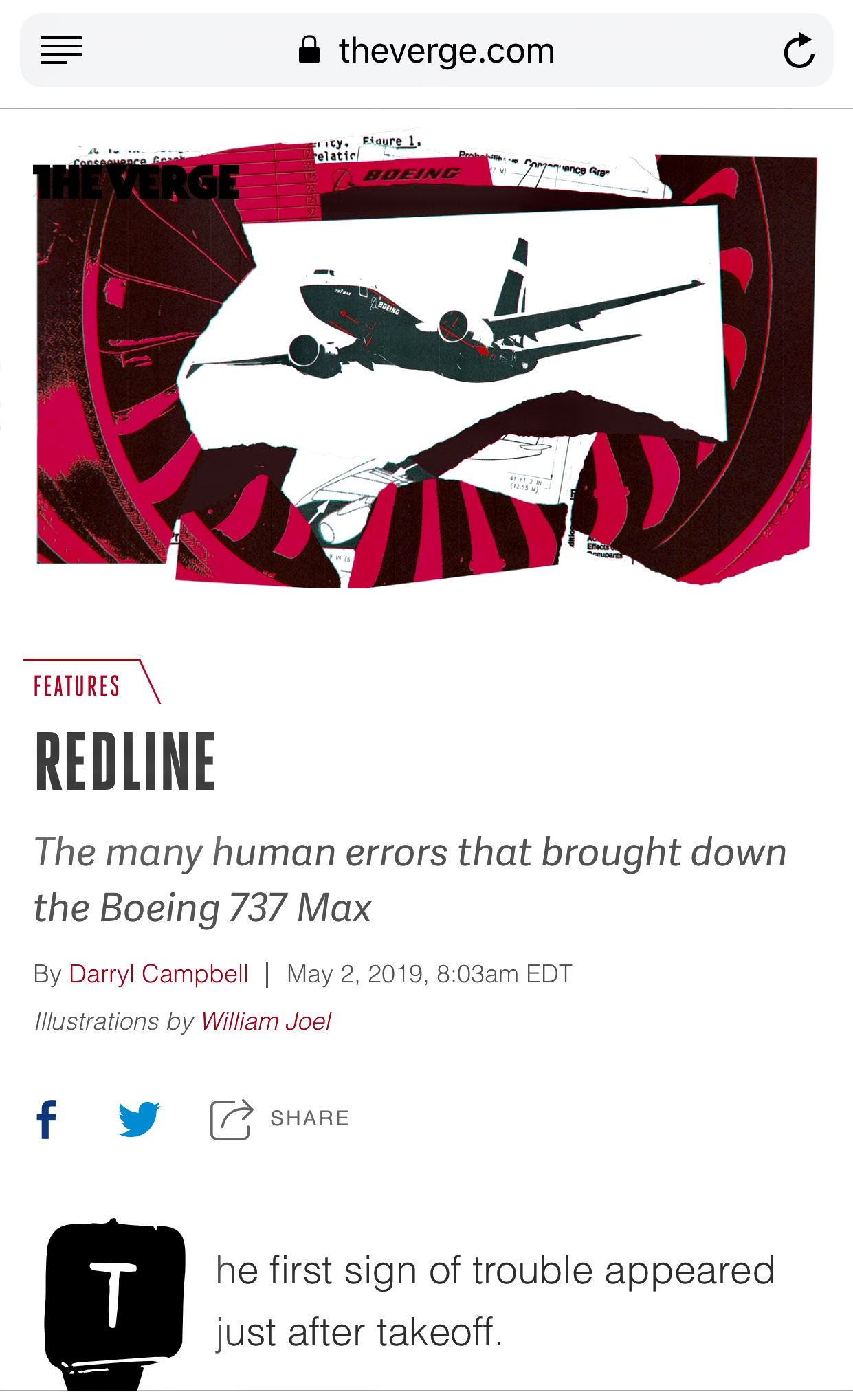 What went wrong? The case of the Boeing 737 Max