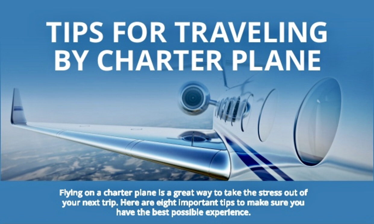 Interested in chartering your own aircraft? Here are some tips!