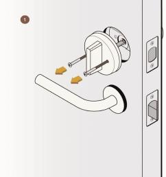 august smart lock installation  [ 939 x 1024 Pixel ]
