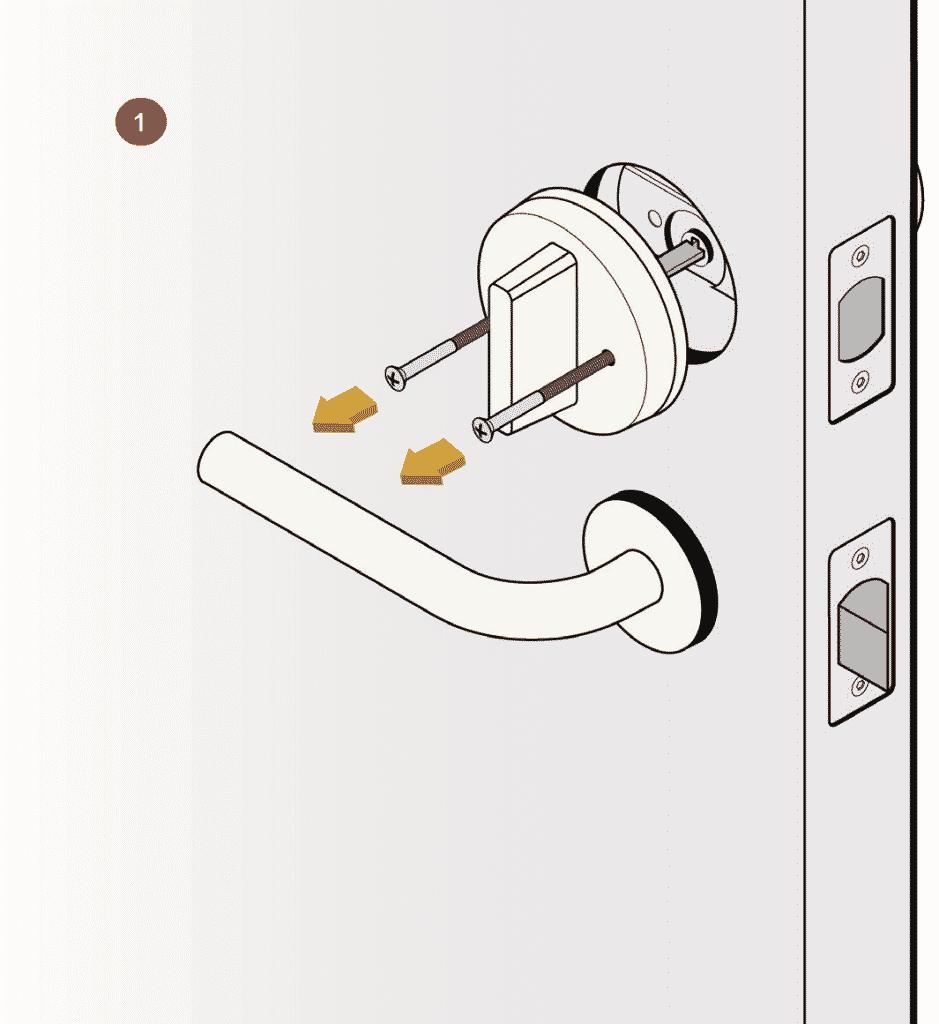 medium resolution of august smart lock installation