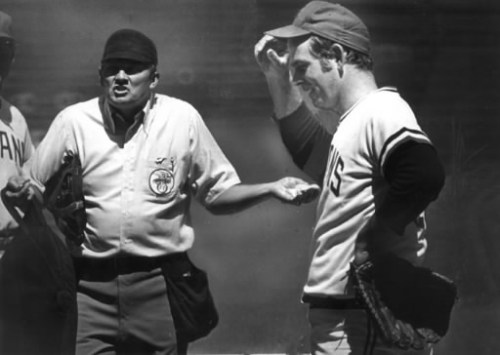 Perry's mastery of the spitter had umpires feeling helpless. (Photo: Plain Dealer)