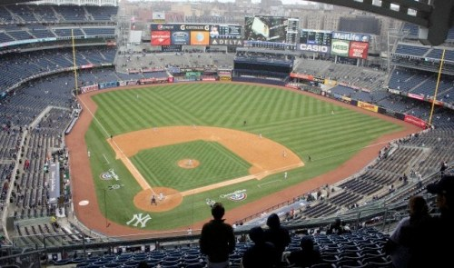 Empty seats have been more common at Yankee Stadium this season.