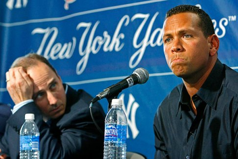 Brian Cashman seems to prefer a tight lipped Alex Rodriguez. (Photo:  USA Today)