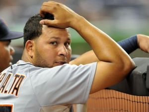 Peralta's new contract has many scratching their heads. (Photo: AP)