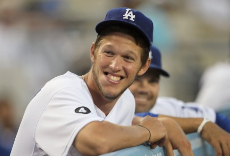 Clayton Kershaw has 215 million more reasons to smile.
