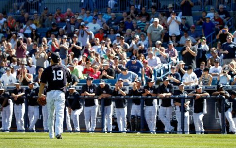 Fans packed into Steinbrenner Field to see Masahiro Tanaka, but other games have been less crowded. (Photo: NY Times)