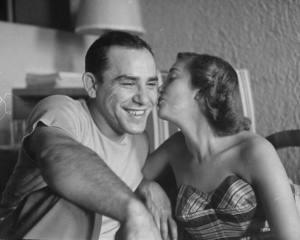 Yogi and Carmen in 1949 (Photo: