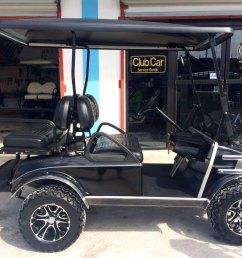 black villager golf cart [ 1280 x 960 Pixel ]