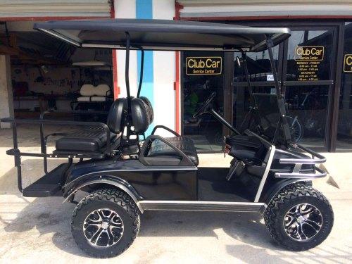 small resolution of black villager golf cart