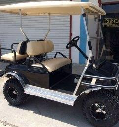 black club car villager golf cart [ 1280 x 960 Pixel ]