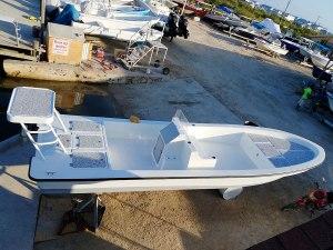 Permit 23 Boat - Captain Sharks