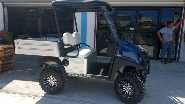 Dark Blue CarryAll 300 Club Car Golf Cart