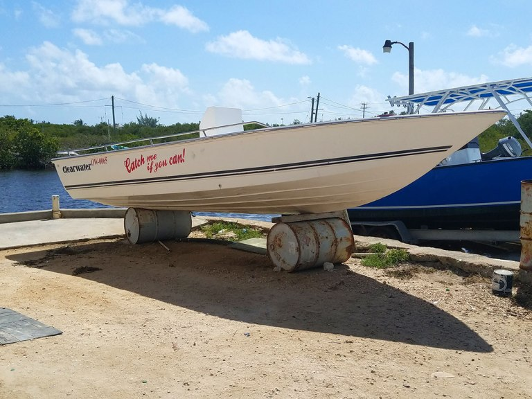 """Used Clearwater 20ft Boat, """"Catch Me If You Can"""""""