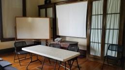 Area de conferencias. Foto: Gustavo Sánchez.