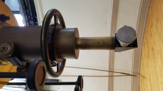 """Diagonal y focuser del telescopio de 16"""". Foto: Gustavo Sánchez."""