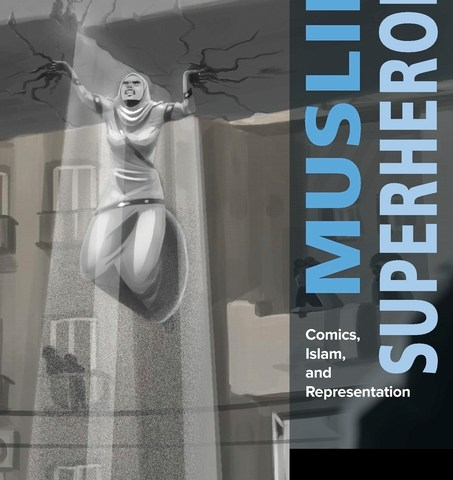 Cover to MUSLIM SUPERHEROES, art by Deena Mohamed