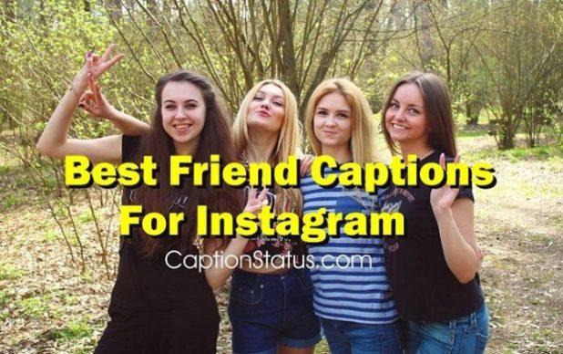 best friend captions for Instagram