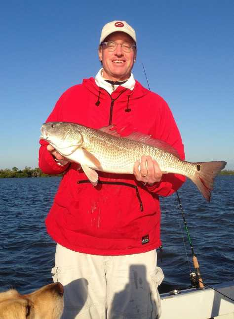 Tim, Redfish, Oyster Bars, Bay Side, Blind Pass, Sanibel & Captiva Islands Charters & Fishing Guide Service.