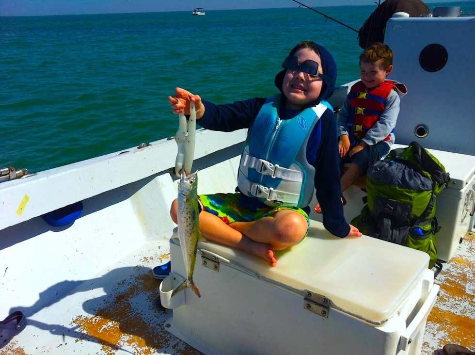 Spanish Mackerel caught in Redfish Pass, Sanibel & Captiva Islands & Fort Myers Charters & Fishing Guide Service.