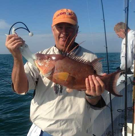 Hog Snapper, January 28, Blind Pass Wreck, Sanibel & Captiva Islands & Fort Myers Charters & Fishing Guide Service.