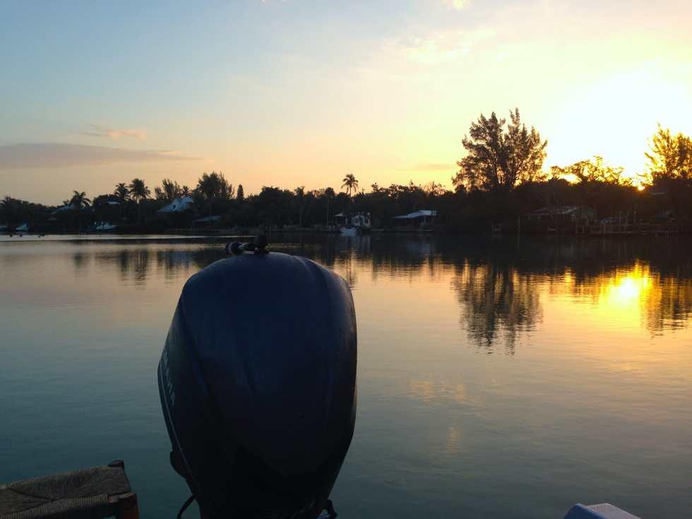 Beautiful sunrise over Captiva Island, Sanibel & Captiva Islands & Fort Myers Charters & Fishing Guide Service.