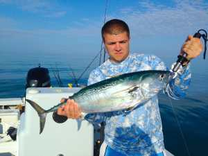 Bonita caught offshore of Sanibel Island, Sanibel & Captiva Islands & Fort Myers Charters & Fishing Guide Service.