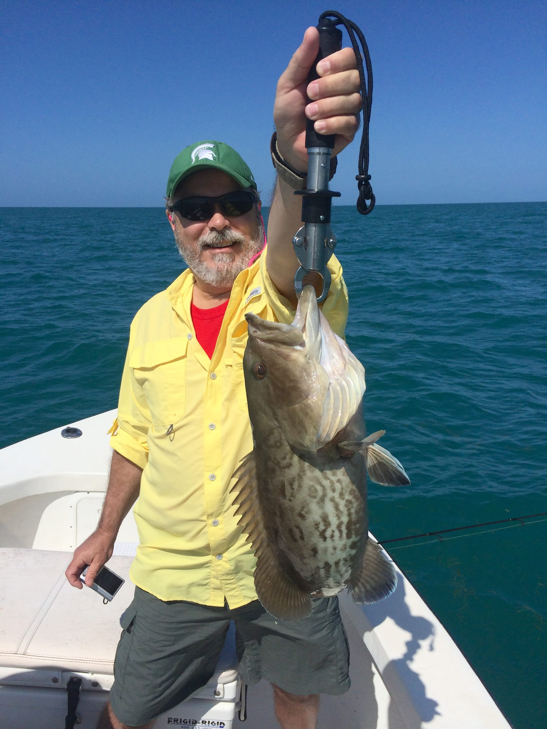 Sunday 4 13 14 captiva fishing report grouper sanibel for Sanibel island fishing report