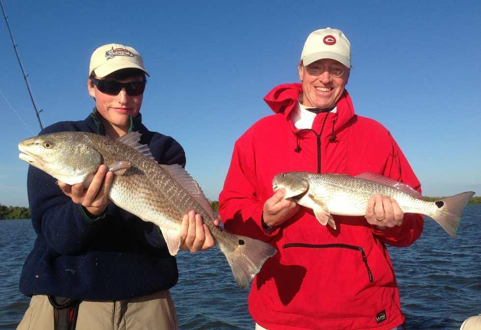 Redfish caught inshore of Captiva Island, Sanibel & Captiva Islands & Fort Myers Charters & Fishing Guide Service.