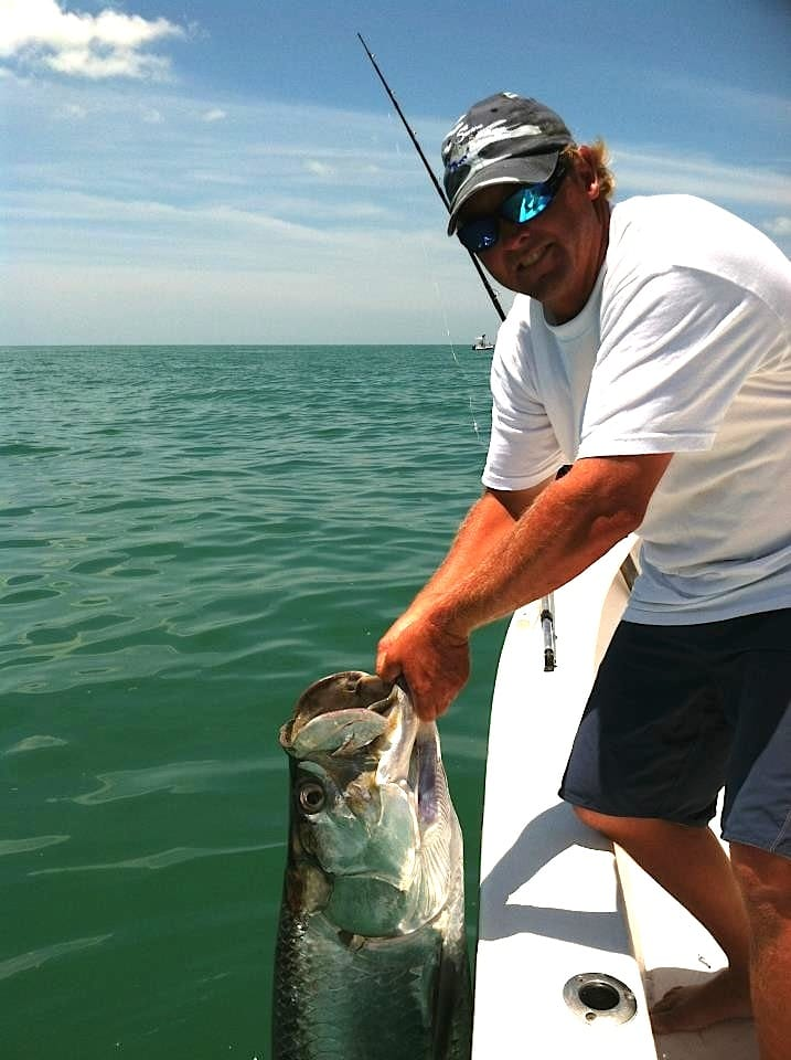 Tarpon, 6-3-14, Sanibel & Captiva Islands & Fort Myers Charters & Fishing Guide Service.