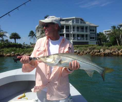 Snook, 6-28-14, South Seas Resort, Redfish Pass, Sanibel & Captiva Islands & Fort Myers Charters & Fishing Guide Service.