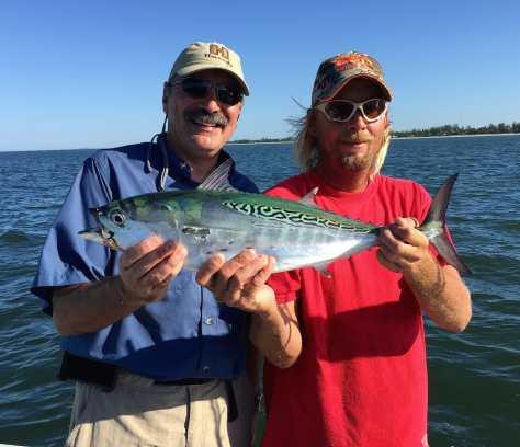 False Albacore Tuna, Little Tunny, Nick, 11-1-14,, Sanibel Fishing & Captiva Fishing & Fort Myers Fishing Charters & Guide Service.