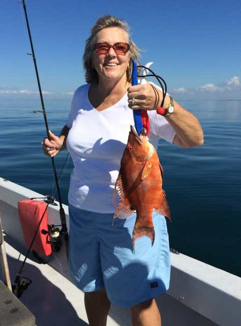 Jean, Hogfish, 1-26-15, Sanibel Fishing & Captiva Fishing & Fort Myers Fishing Charters & Guide Service.