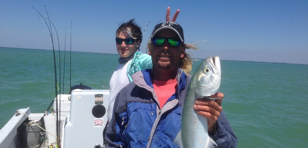Captiva Fishing, Big Bluefish, 3-30-15, Sanibel Fishing & Captiva Fishing & Fort Myers Fishing Charters & Guide Service.