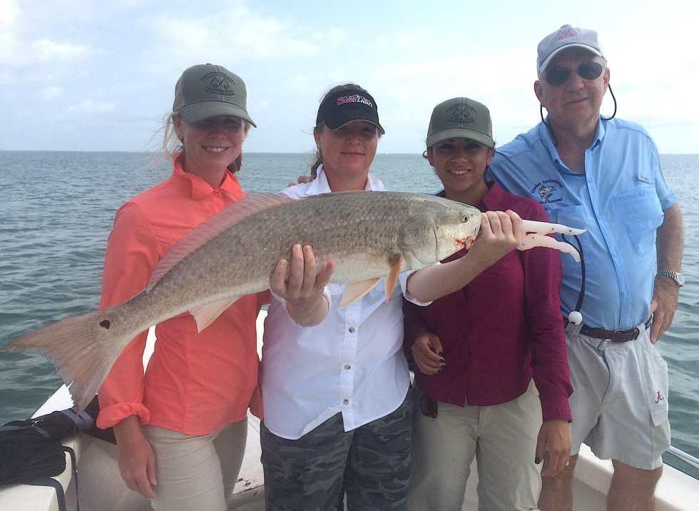 Captiva Fishing, Big Redfish, 4-27-15, Sanibel Fishing & Captiva Fishing & Fort Myers Fishing Charters & Guide Service.